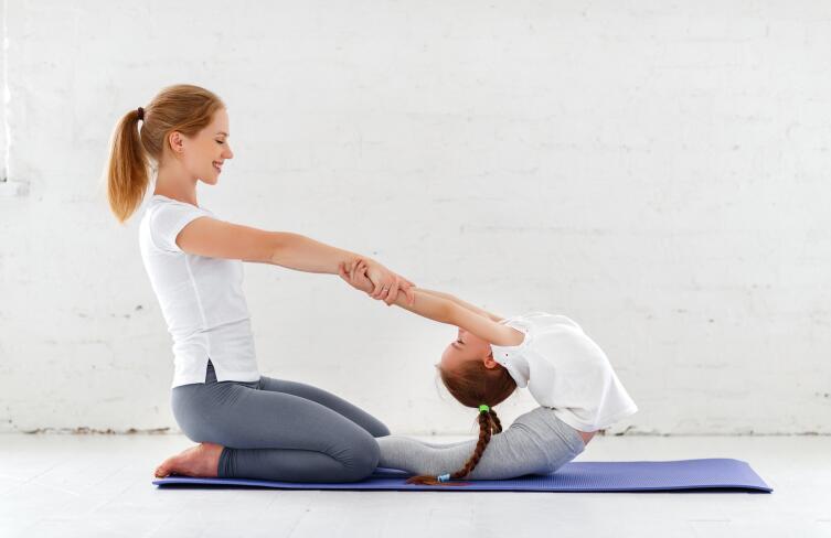 Йога для малышей: с чего начать?