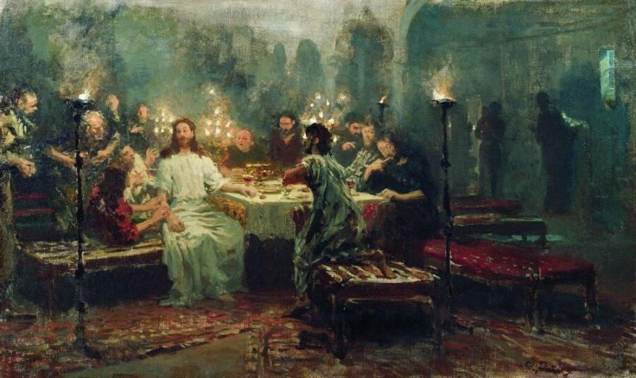 И. Е. Репин, «Тайная вечеря», 1903 г.