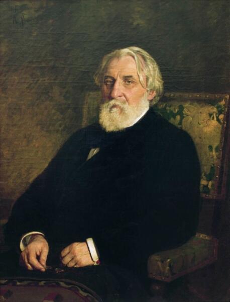И. Е. Репин, «Портрет И. С. Тургенева», 1874 г.