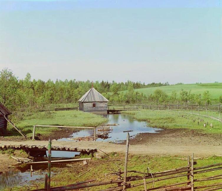 Исток Волги, 1910 г.