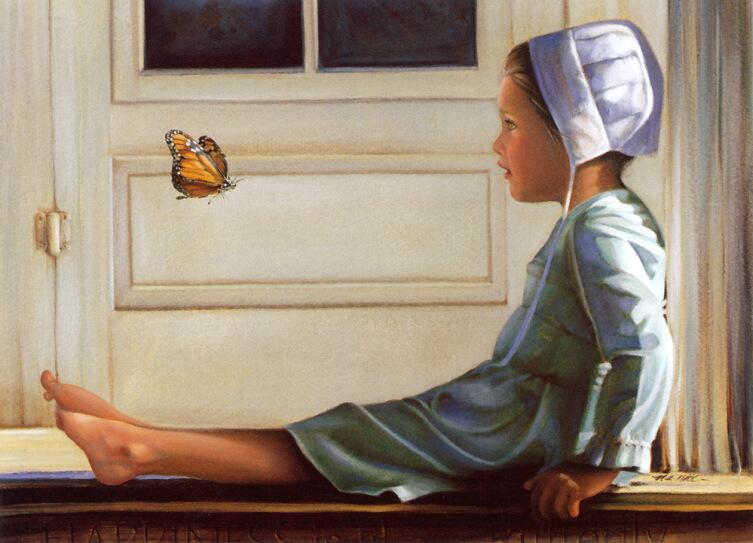 Нэнси Ноэль, «Счастье подобно бабочке»
