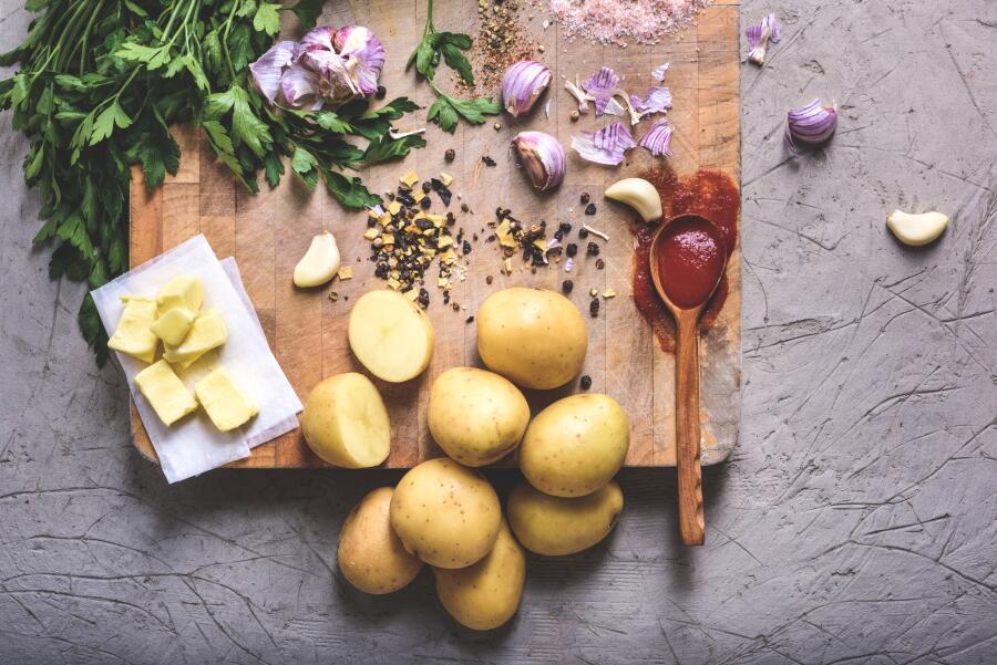 Как приготовить вкусные блюда из картофеля?