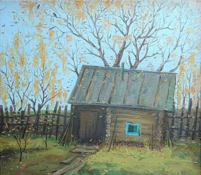 Сергей Николаевич Пыхтин, «Банька», 1987 г.