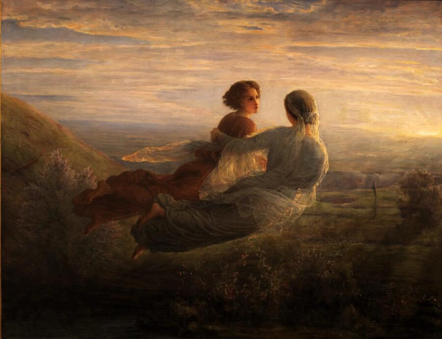 Луи Жанмо, «Полет души», 1860 г.