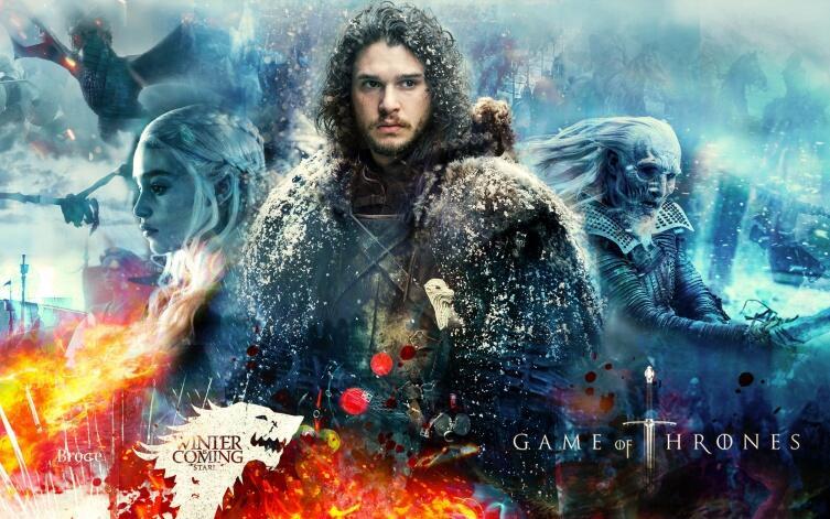 Постер к т/с «Игра престолов»