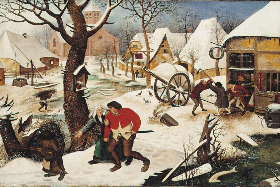 Питер Брейгель Младший, «Возвращение из трактира», 1620 г.