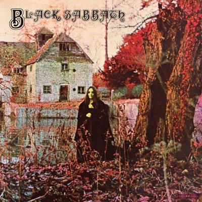 Обложка альбома Black Sabbath «Black Sabbath», 1970 г.