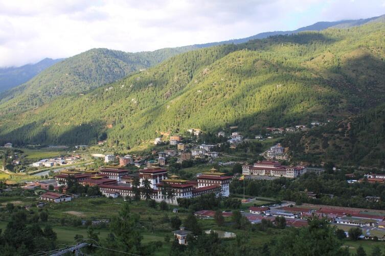 Пейзаж. Бутан