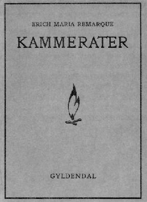 Обложка первого издания романа Эриха Марии Ремарка