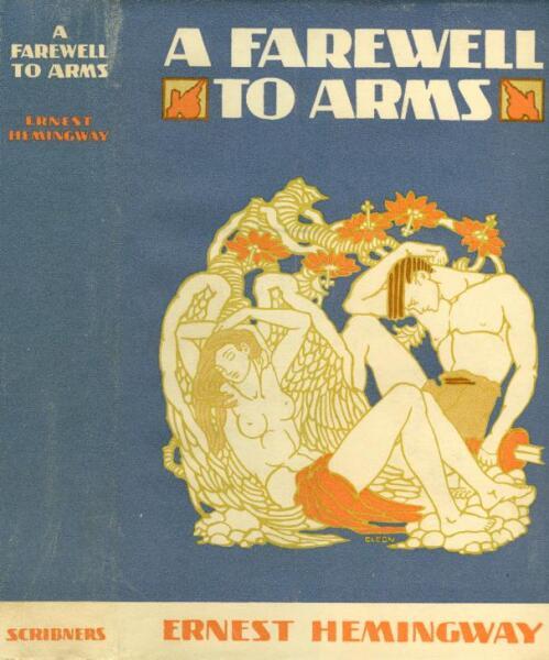 Обложка первого издания «Прощай, оружие»