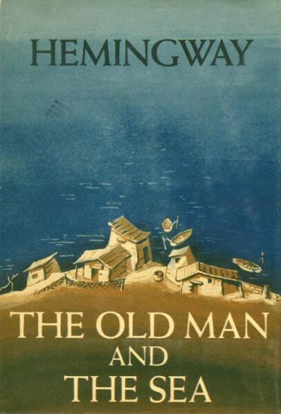Обложка первого издания рассказа «Старик и море»
