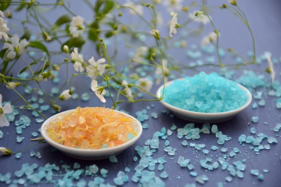 Соль для принятия ванн