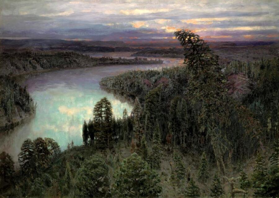 А. М. Васнецов, «Северный край», 1899 г.