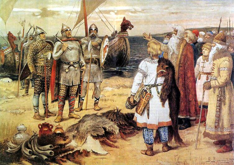 В. М. Васнецов, «Призвание варягов»