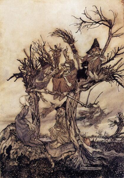 Артур Рэкхэм, «Шабаш ведьм»