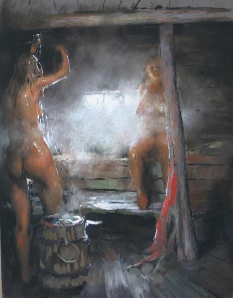 Василий Васильевич Куракса, «Русская баня», 2006 г.