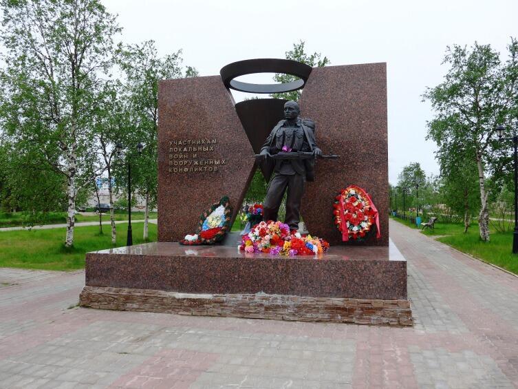 Памятник «Ветеранам боевых действий, участникам локальных войн и вооруженных конфликтов»