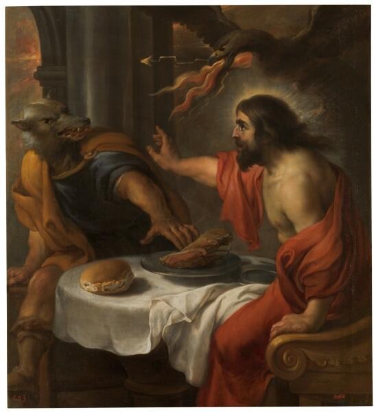 Ян Коссирс, «Юпитер и Ликаон»