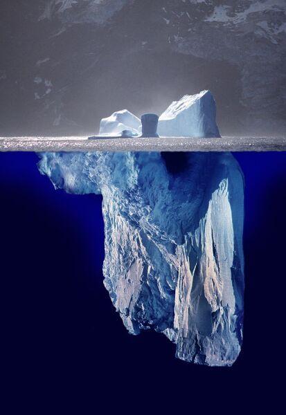 Айсберг, как он есть на самом деле