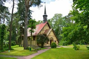Как католическая капелла Раушена стала органным залом Светлогорска?