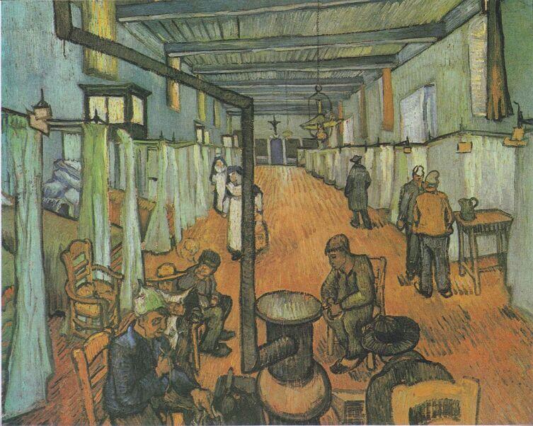 Винсент Ван Гог, «Общежитие больницы Арля», 1889 г.