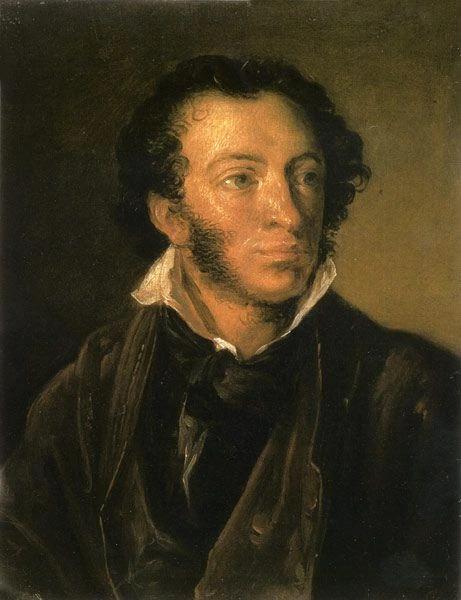 В. А. Тропинин, «Портрет А. С. Пушкина», 1827 г.