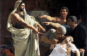Тарквиний и Лукреция: почему он поднял на нее нож? История в живописи