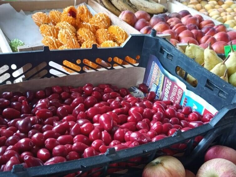 На рынке Коктебеля