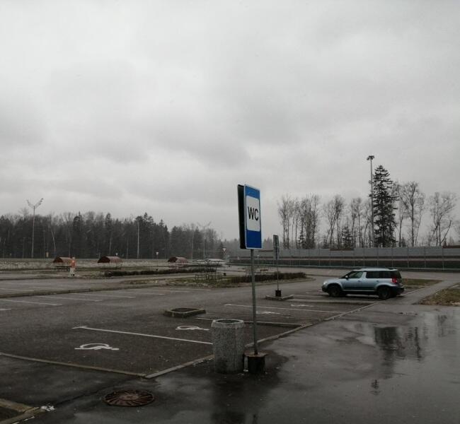 Сразу за Москвой пошел снег…