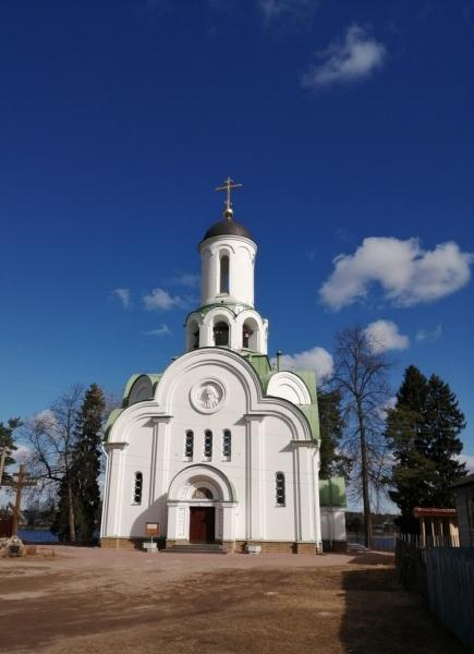 Церковь прп. Александра Свирского в селе Паша (Ленинградская обл.)