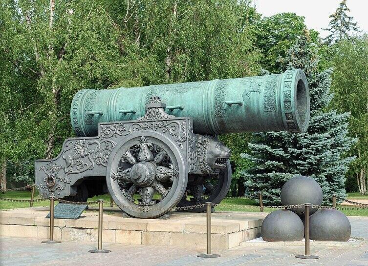 Царь-пушка работы Андрея Чохова