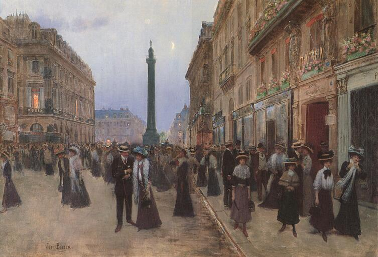 Жан Беро, «Улица де Ля Пэ»