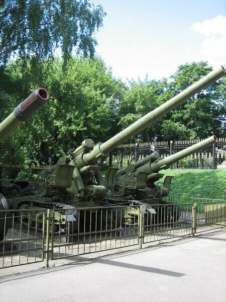 Дальнобойная пушка Бр-2152мм