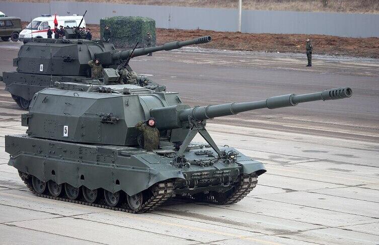 Установка 2С35 «Коалиция-СВ», 152 мм