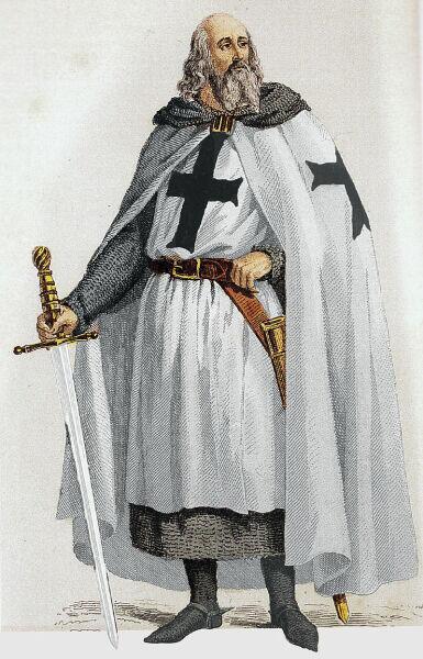 Жак де Молé (рисунок XIX века)
