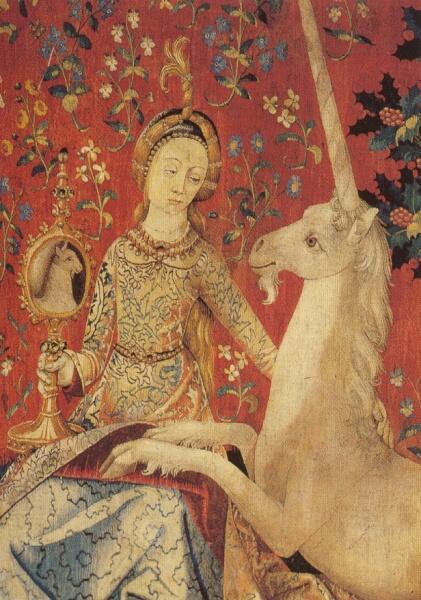 Дама с единорогом (конец XV века)
