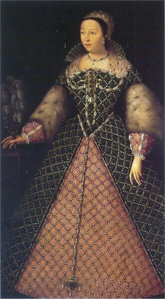 Неизвестный художник, «Екатерина Медичи», 1547-1559 гг.