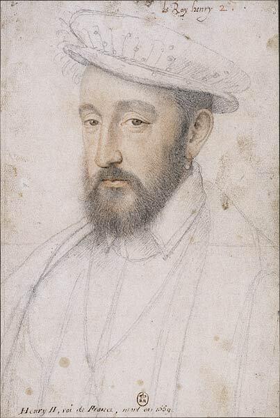 Франсуа Клуэ, «Генрих II», ок. 1553 г.