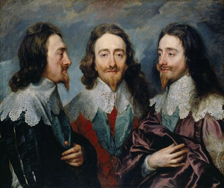 Антонис Ван Дейк, «Карл I с трёх сторон»