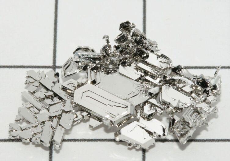 Кристаллы платины