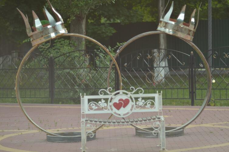 В городском парке Хохольского, август 2019 г.