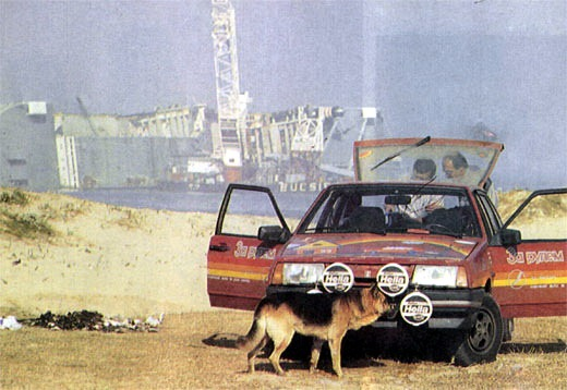 Как проходил советский автопробег Москва—Лиссабон?