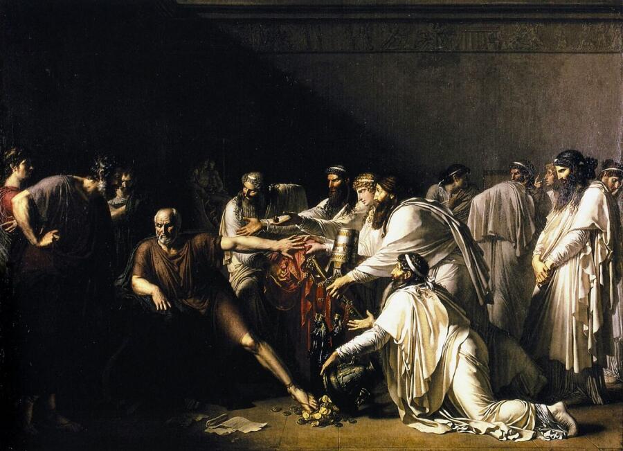 Анн-Луи Жироде-Триозон, «Гиппократ отказывает послам Артаксеркса»