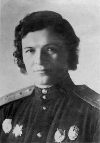 Евдокия Давыдовна Бочарова (по первому мужу Бершанская)
