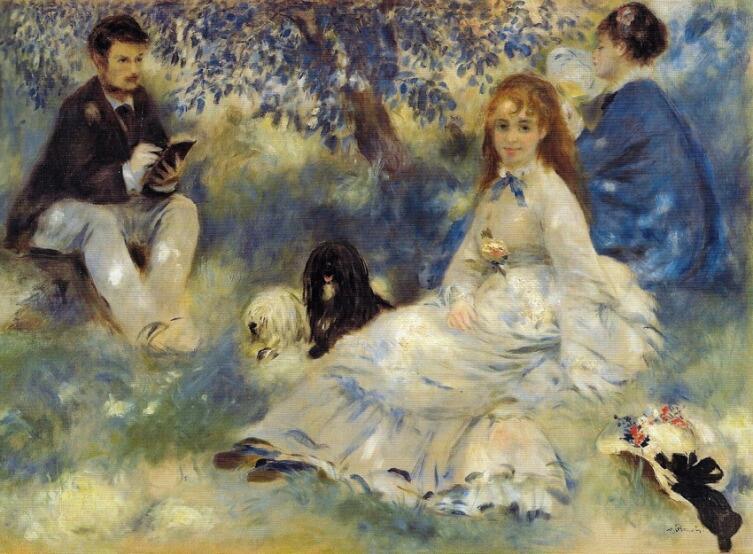 Пьер Огюст Ренуар, «Семья Анрио», 1875 г.