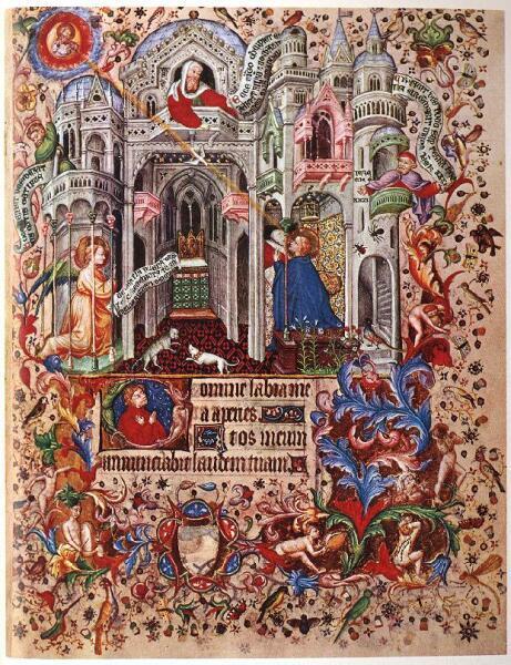 Часовая книга Парижа, 1400-1410 гг.