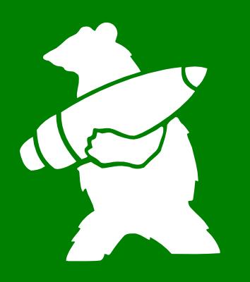 Войтек, несущий снаряд, на эмблеме 22-й роты снабжения артиллерии Войска Польского