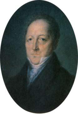 Сергей Львович Пушкин (1770-1848), отец поэта А. С. Пушкина. Неизвестный художник. 1810-е гг.