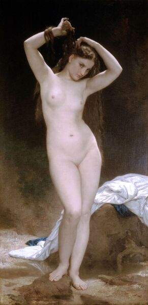 Вильям Адольф Бугро, «Купальщица», 1870 г.