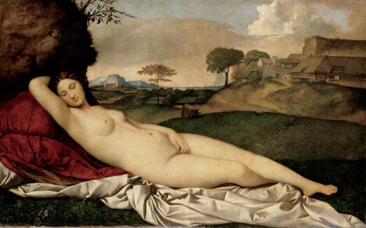Джорджоне, «Спящая Венера», 1510 г.